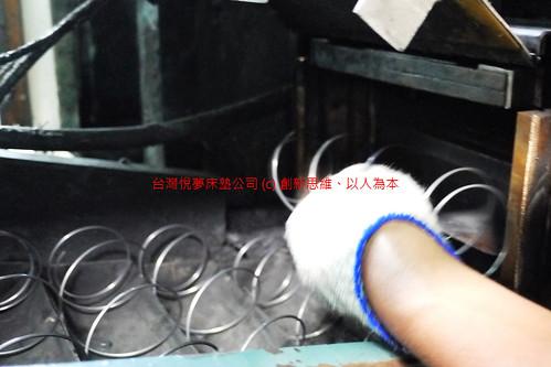 悅夢品牌の床墊,獨立筒彈簧原型製造過程解密分享06