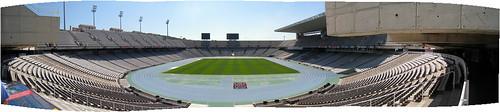 Montjuic Stade Panorama 1