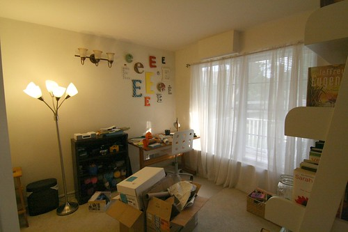 craft room/second bedroom