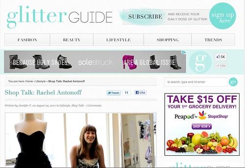PRESS: The Glitter Guide-- Rachel Antonoff 1