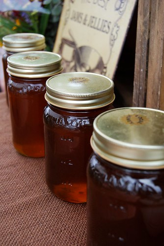 Local honey – did I mention how delicious this tasted