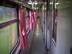 First Class Cabins, Train 69 from Bangkok to Nong Khai