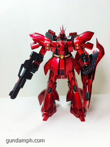 MG Sazabi Metallic Coating (Titanium-Like Finish) (46)