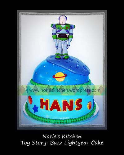 Norie's Kitchen - Buzz Lightyear Cake by Norie's Kitchen