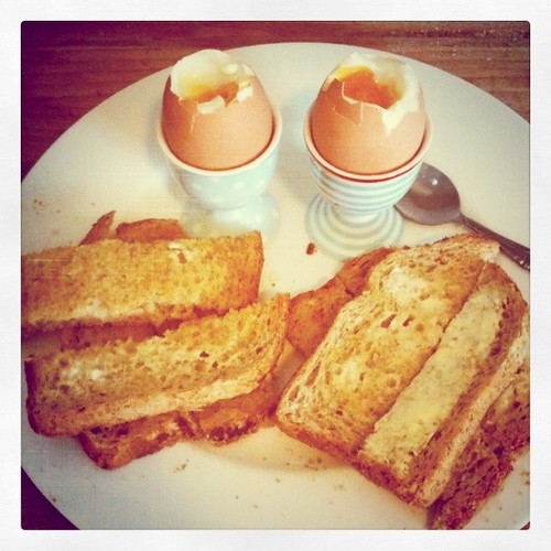 August Break: Eggs & Soldiers by Lisa Benoist