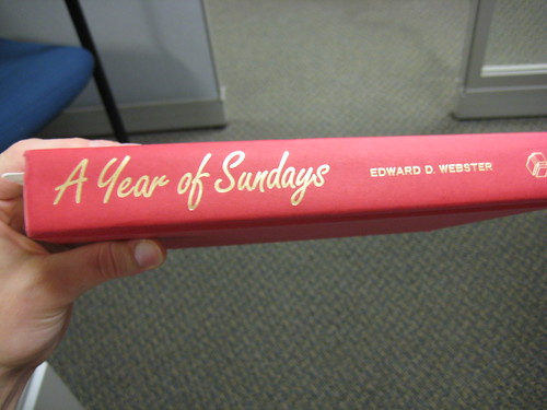 A Year of Sundays by Webster