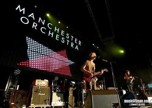 Manchester Orchestra @ Verizon Amphitheater