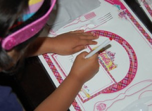 Barbie Princess Charm School party
