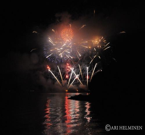 Finnish fireworks championships 2011 , ilotulituksen SM