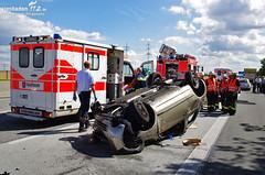 Verkehrsunfall A3 Raunheim 30.08.11
