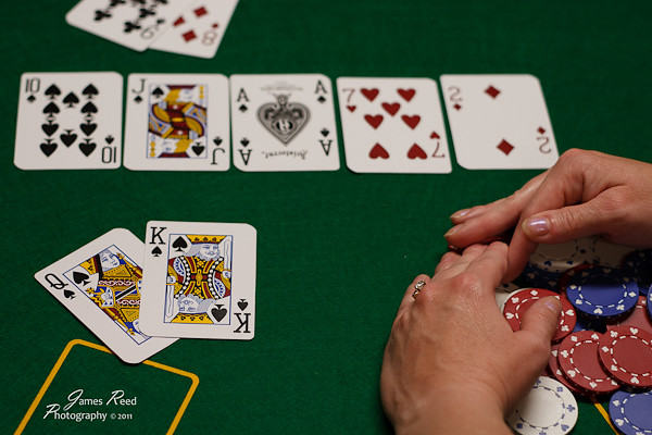 The appropriate end of all good poker hands.