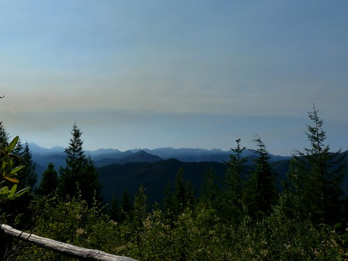 smoke from big hump / brothers wilderness fire