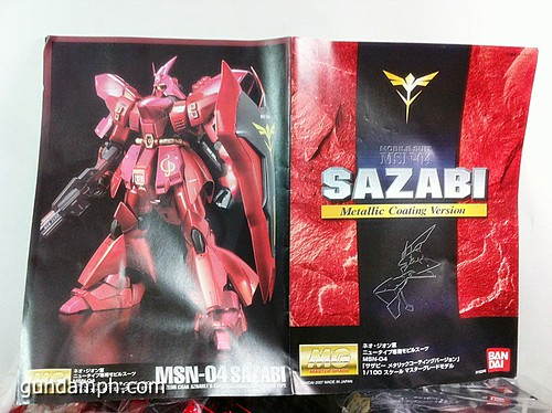 MG Sazabi Metallic Coating (Titanium-Like Finish) (8)