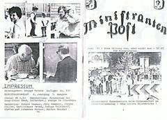 Ministrantenpost Juni 1981 #1