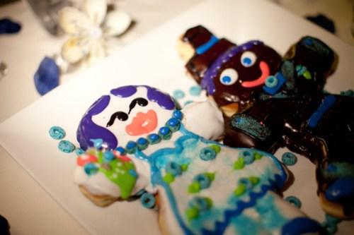 Voodoo Doughnut wedding cake!
