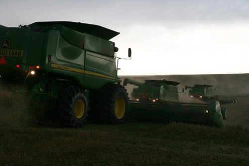 We've got our duck er combines in a row