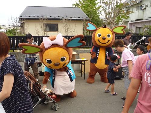 ボラバスレーベン隊@ありがとう東松島元気フェスタ Volunteer at Higashimatsushima Genki Festa, Miyagi pref, Tsunami affected area, Japan Earthquake