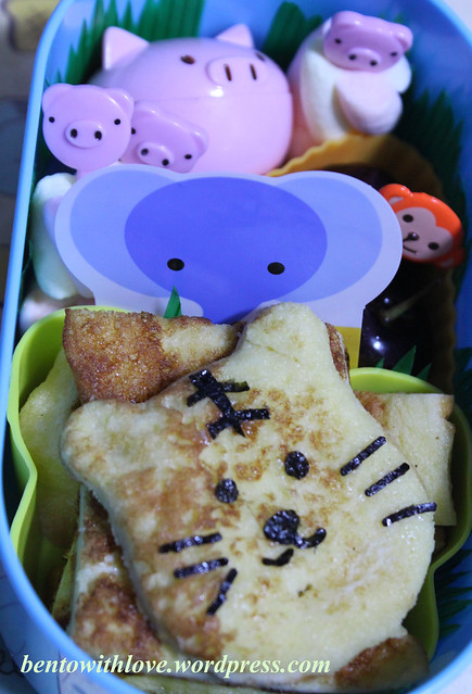 The 3 Pigs and the Tiger Bento