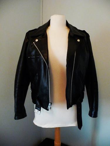 leather vintage jacket