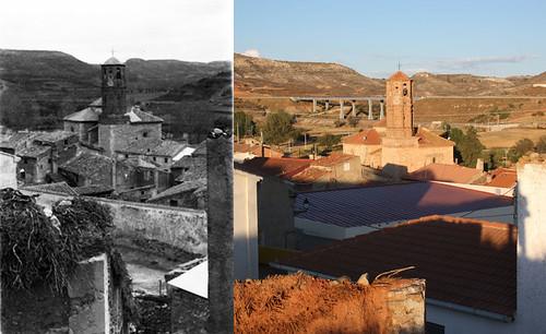 Vista del pueblo desde el barrio San Juan