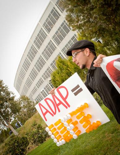 AIDS Drug Pricing Protest