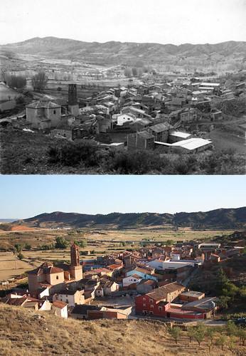 Vista del pueblo desde el depósito