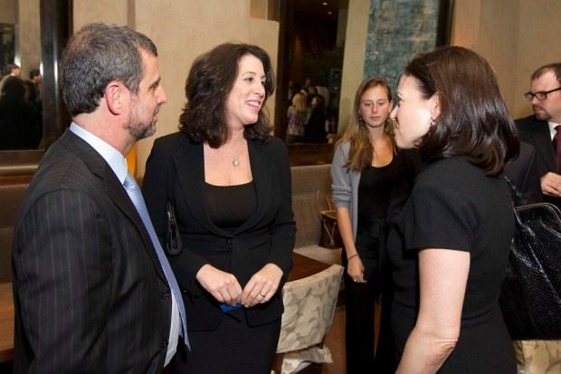 Peter Kaufman, Christine Pelosi, Sheryl Sandberg