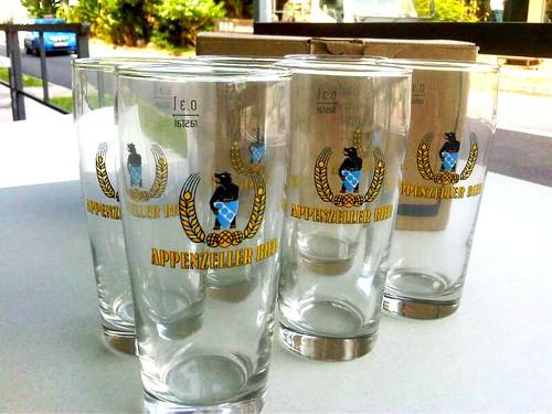 Calvinus Blanche 300ml beer glasses