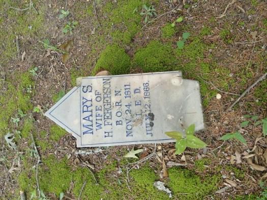 Stoneware Markers, Walker County AL