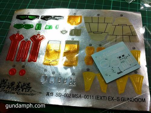 MC SD EX-S Gundoom  Model Comprehend  Review  OOB Build (14)