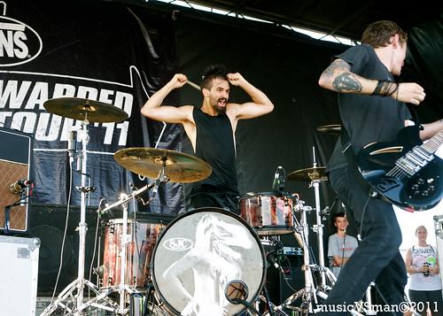 Against Me! @ Warped 2011