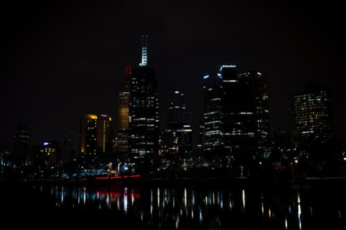 Cityscape from Birrarung Marr
