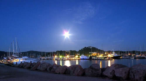 Porquerolles by moonlight
