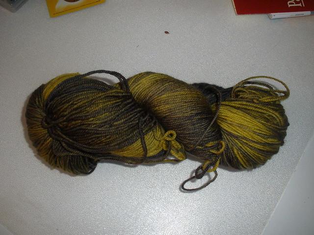 malabrigo yarn sock  turner