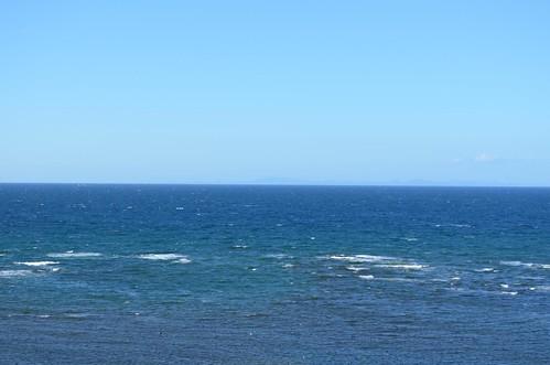 宗谷岬から北を見るとサハリン