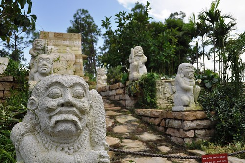 Ruins at Marica and L. Bates Lea Asian Gardens, Naples Botanical Garden