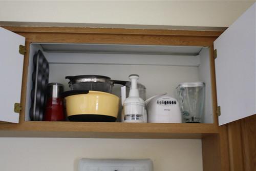 upper kitchen cabinet after