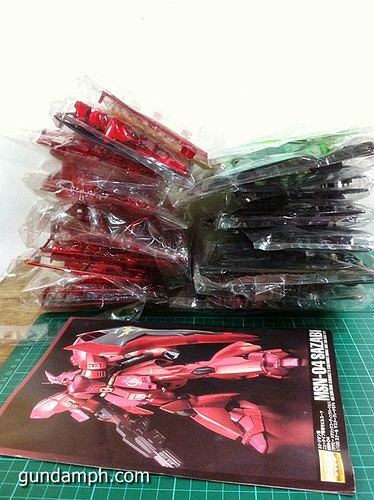 MG Sazabi Metallic Coating (Titanium-Like Finish) (13)