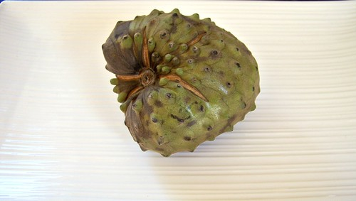 Inside the Cherimoya