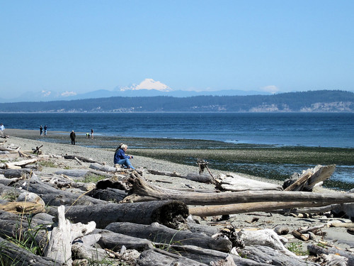 Mt Baker from Point No Point