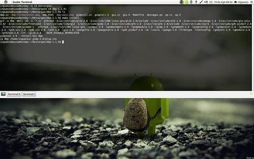 Compilando el plugin dbp