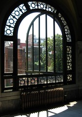 Window at Memorial Hall