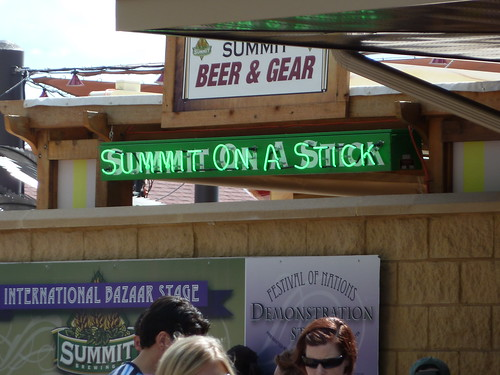 Summit on a Stick?