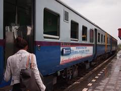 International Train from Nong Khai to Thanaleng