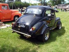 Morris Minor 1000 rear