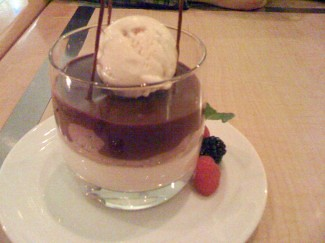 Chocolate Caramel Parfait Chocolate Mousse