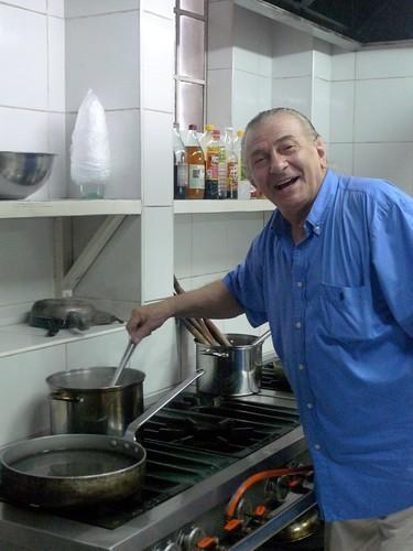 Chef Tiziano Cavallini