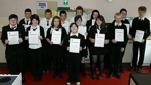 Elementary Food Hygiene Certificates Awarded