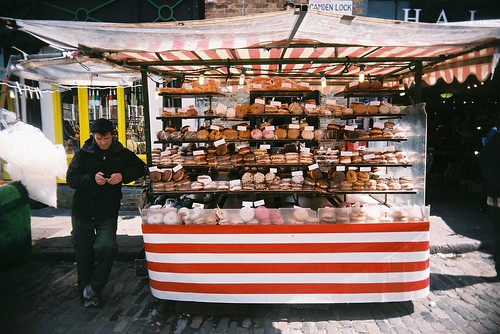 donut stall at camden