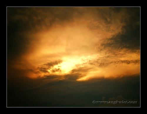 Sunset at Pearl Farm Beach Resort
